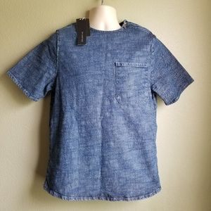 Zara Man Denim Shirt
